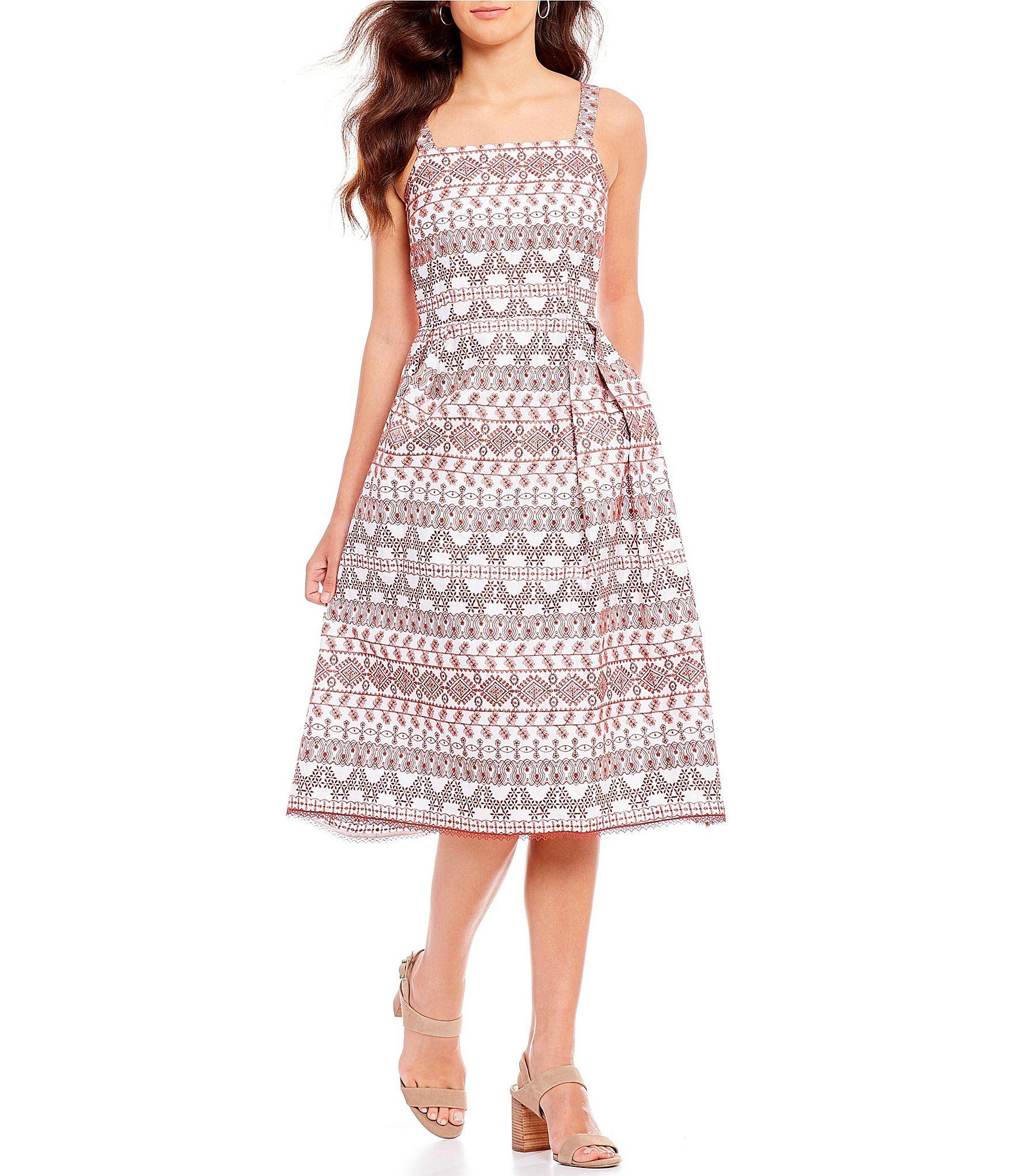 d950c6075b7 Antonio Melani Tammy Midi Dress  Dillards Work Dresses For Women