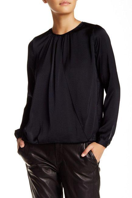VINCE. Cross Front Drape Blouse $124.97 $295.0058% Off Cross Front Drape Blouse