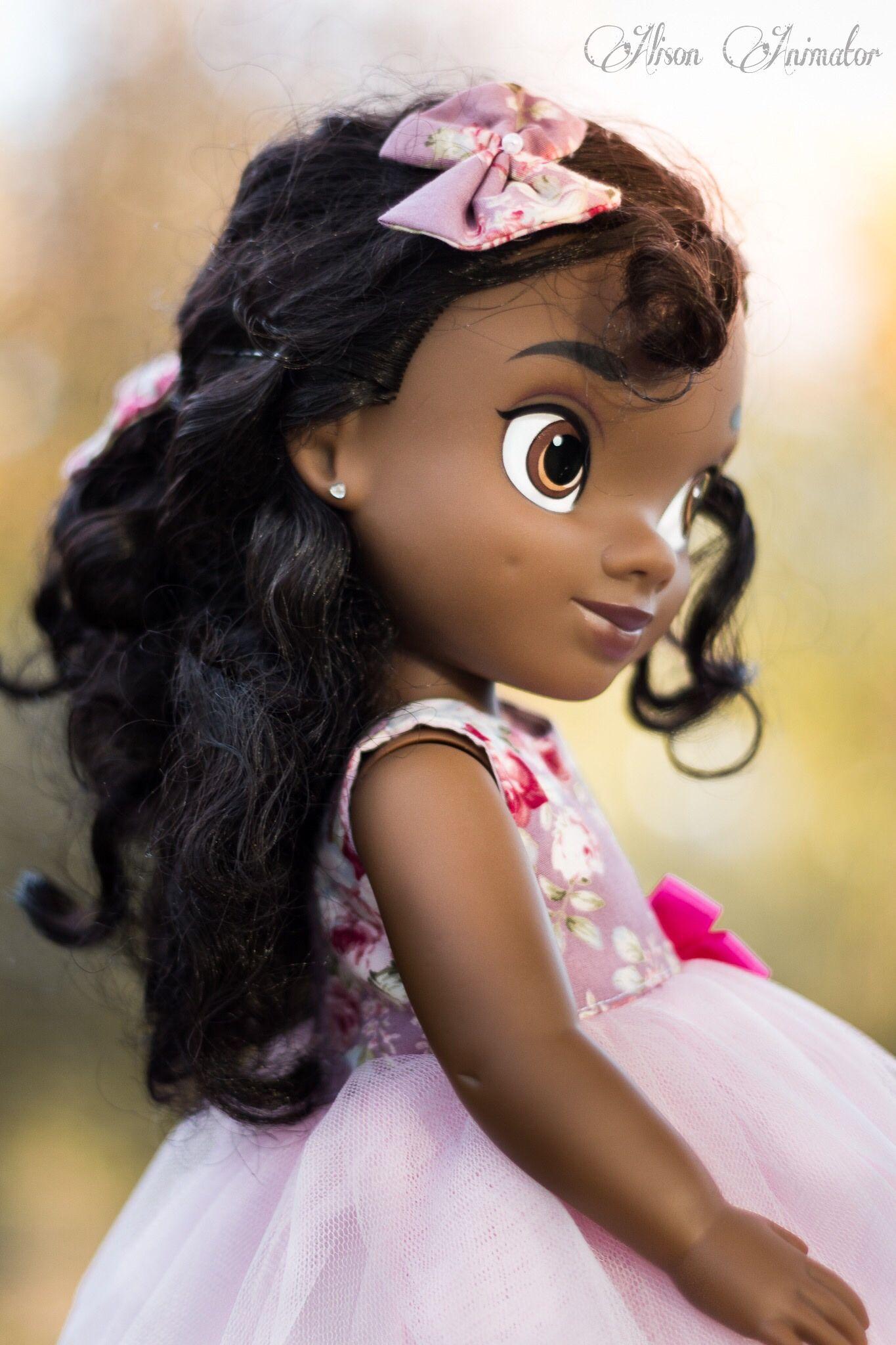 tiana animator doll photography tiana poupee animator disney photo