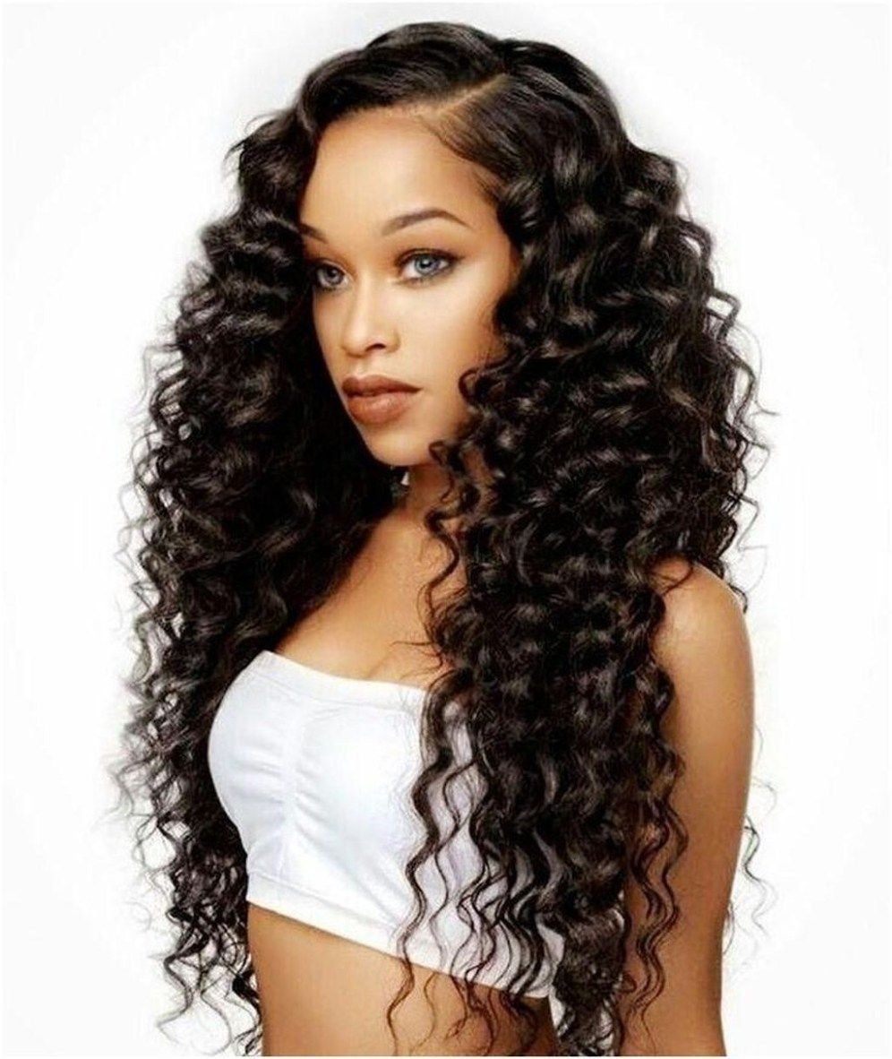 Pretty Prom Hairstyle Ideas For Curly Long Hair10  Long weave