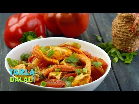 Baby corn and paneer jalfrazie video by tarla dalal hindi recipe baby corn and paneer jalfrazie video by tarla dalal hindi recipe video indian and forumfinder Image collections