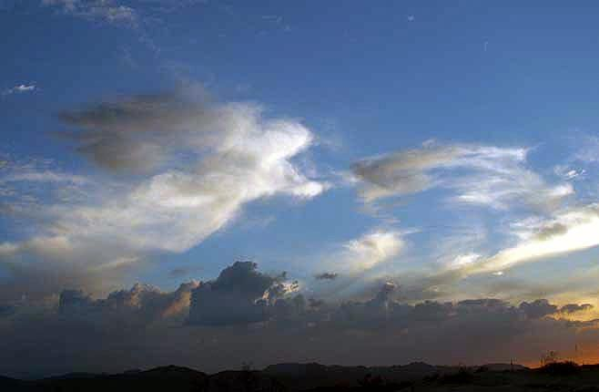 Angel Cloud? Pinner says: I think this is made by HAARP CLOUD SCULPTURING PROGRAM