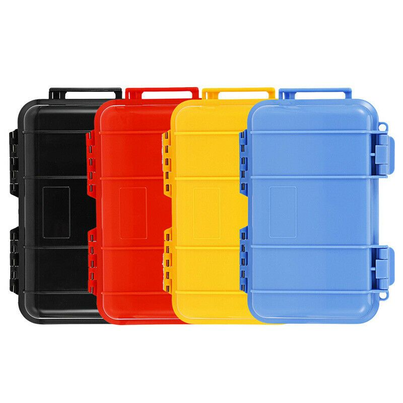 Plastic Airtight Survival Storage Case Shockproof Waterproof Container Boxes Storage Con Waterproof Storage Airtight Storage Storage Containers With Drawers
