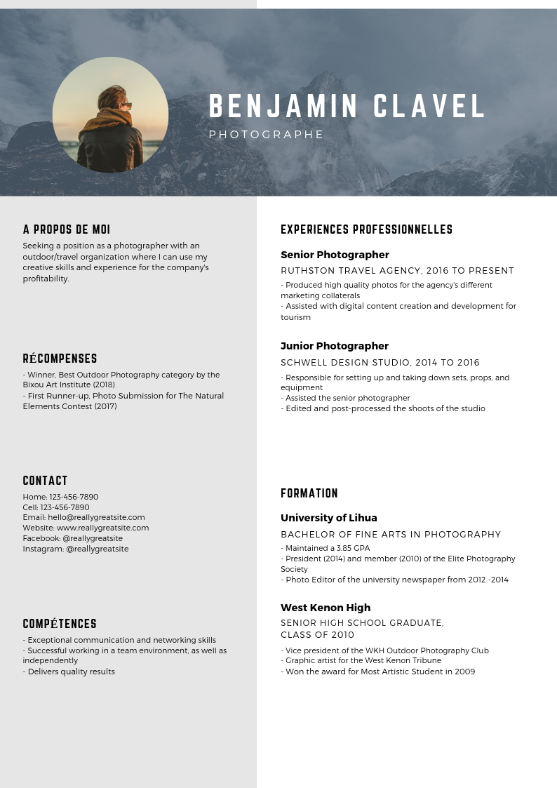 Le guide du CV parfait conseils & modèles gratuits