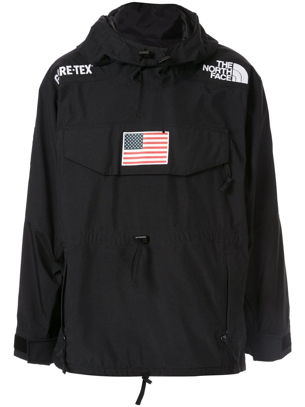Supreme X The North Face Expedition Anorak Farfetch Anorak Supreme Clothing North Face Jacket