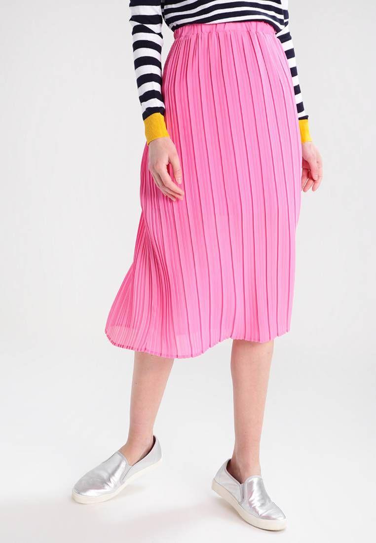 20d4224d9d YAS. YASNOMA - Jupe plissée - azalea pink. Informations  additionnelles doublée