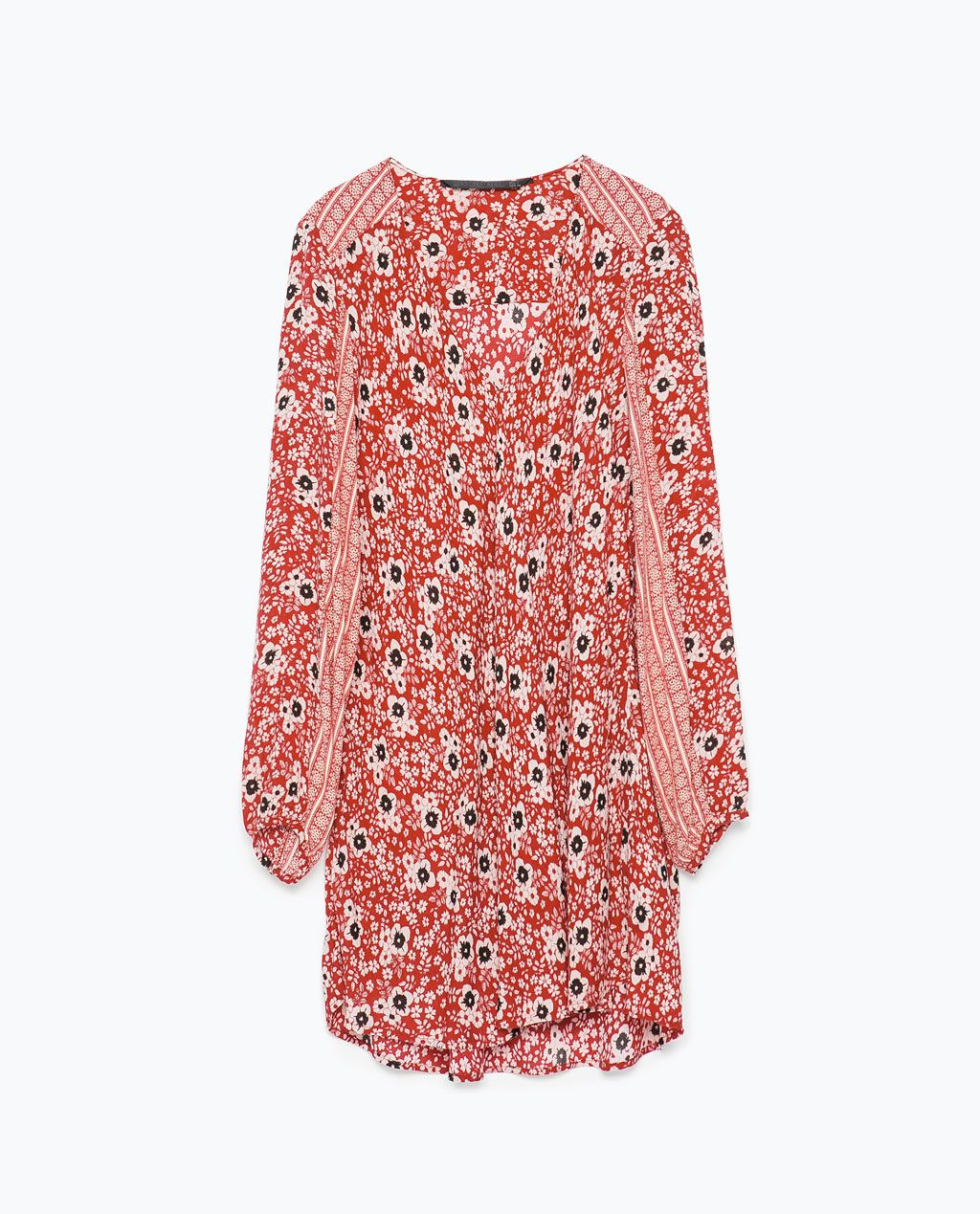 Image 7 of COMBINED PRINTED DRESS from Zara