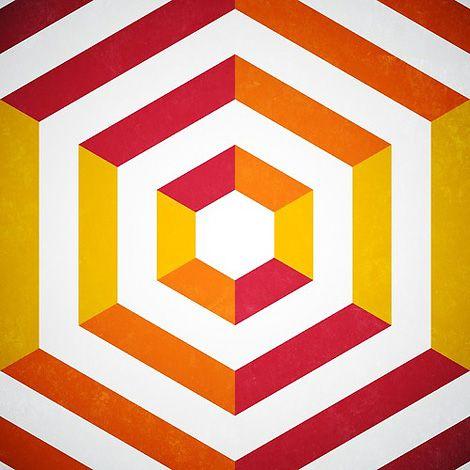 Isometric Geometric Shapes Art Geometric Shapes Design