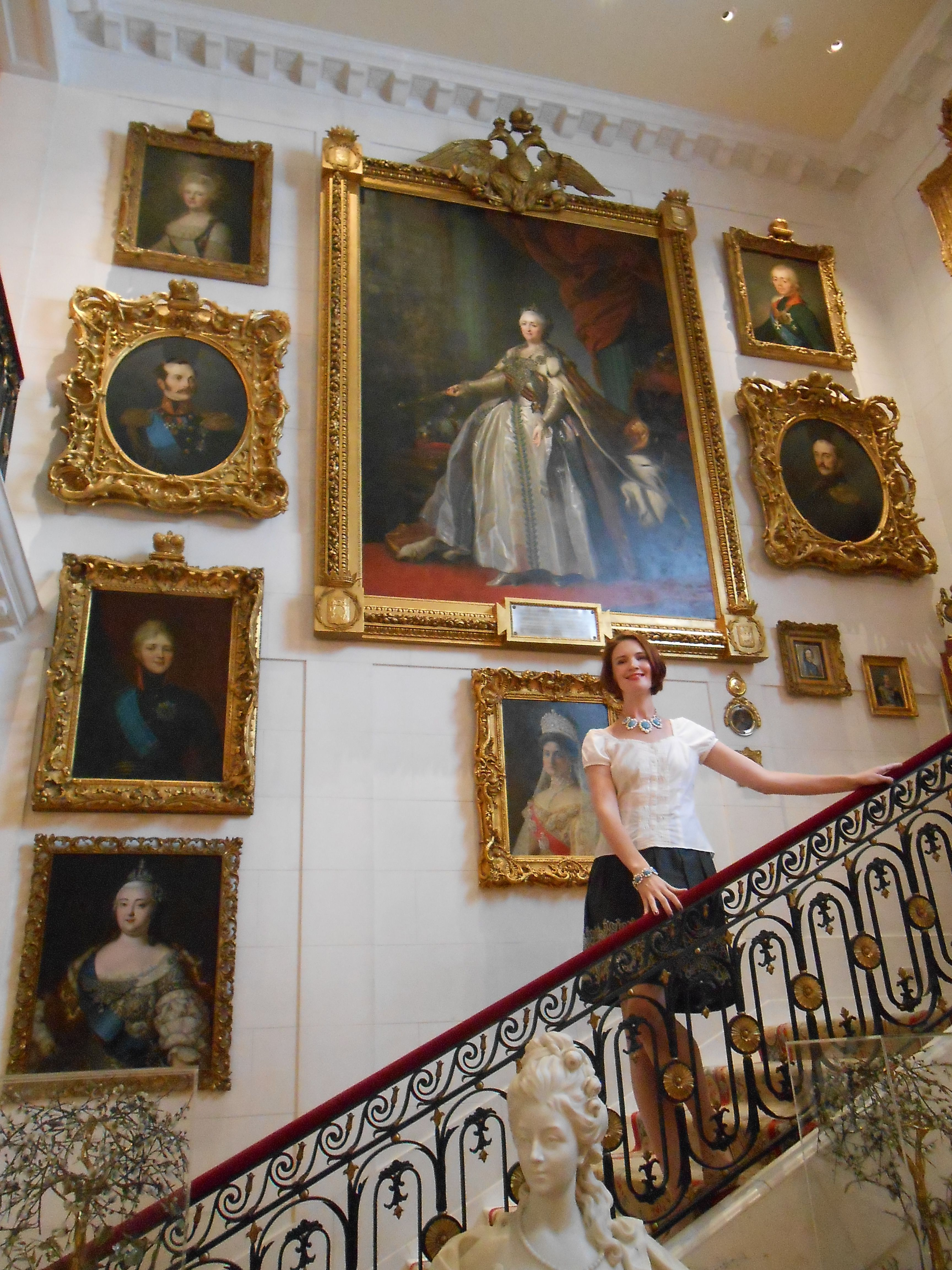 Holding my own in the shadow of Catherine the Great | Hillwood ...