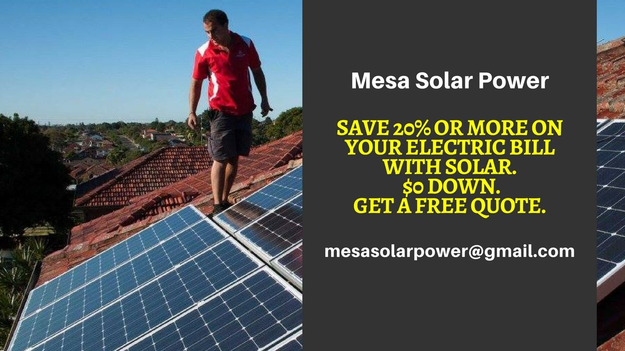 Pin By Mesa Solar Power On Solar Panel Costs Mesa Affordable Solar Energy Mesa Free Solar Panels Residential Solar Panels Buy Solar Panels
