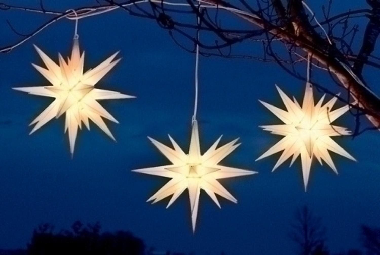 amazoncom 14 white moravian star hanging christmas light home improvement