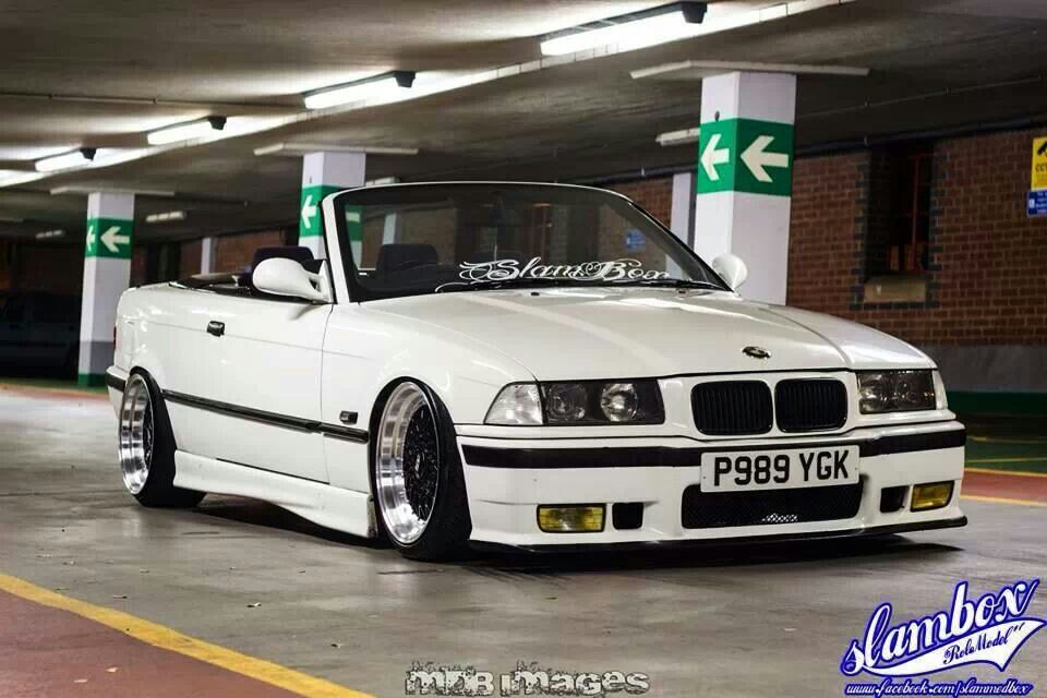 bmw e36 318i cabrio white slammed air ride be my wife. Black Bedroom Furniture Sets. Home Design Ideas
