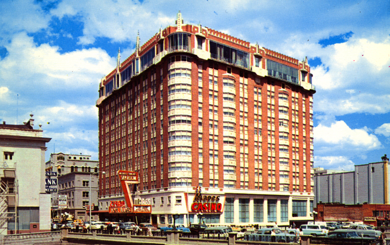 Mapes Hotel   Reno Divorce History