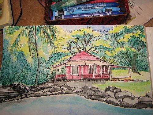 from my sketchbook Big Island of Hawaii