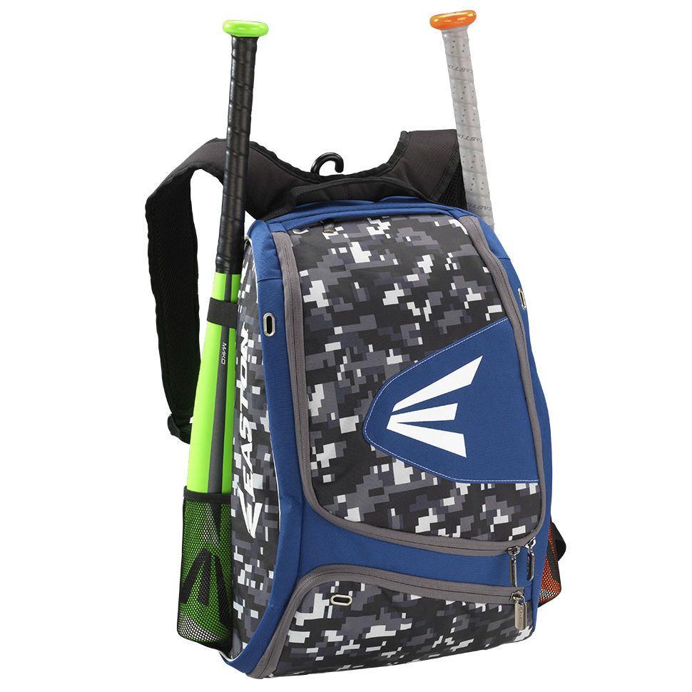 Easton E100xlp Baseball Softball Backpack Bat Bag Royal Blue Digital Camo New