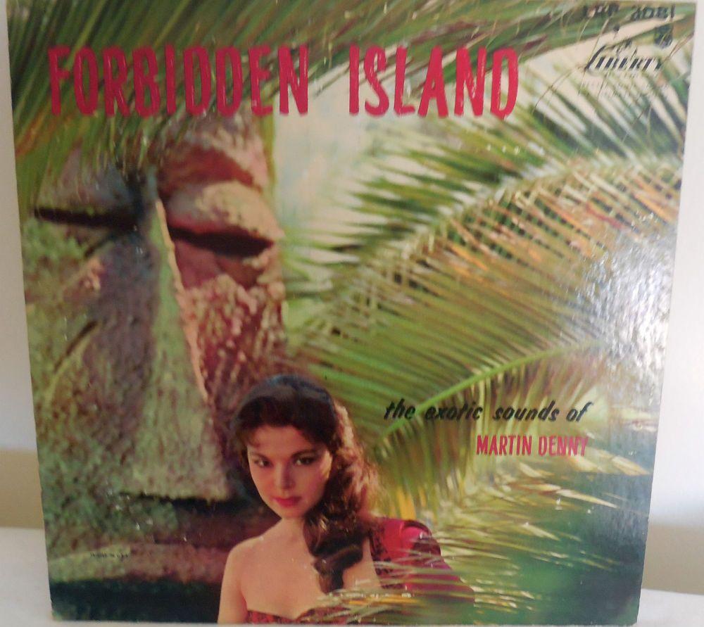 Martin Denny FORBIDDEN ISLAND Liberty 3081 Mono First Press Exotica ...