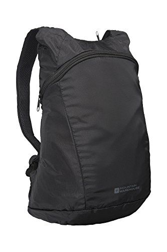 967c3f85a82a Mountain Warehouse Packaway Backpack Black -- Click on the image for  additional details. (This is an affiliate link)  HydrationPacks