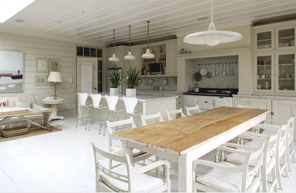 Living cocina comedor integrados rusticos buscar con - Cocina comedor integrados ...