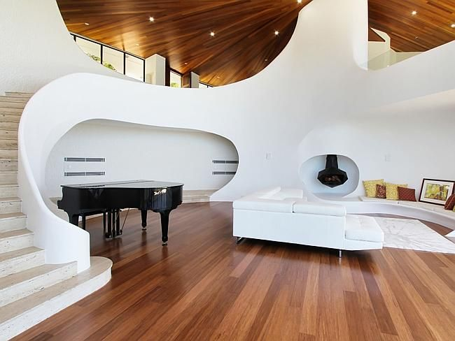 Intriguing interior from a Cronulla property