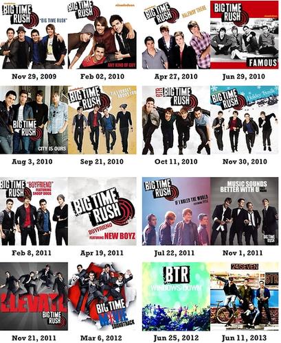 Album De Big Time Rush : album, Rush,, Time,, Albums