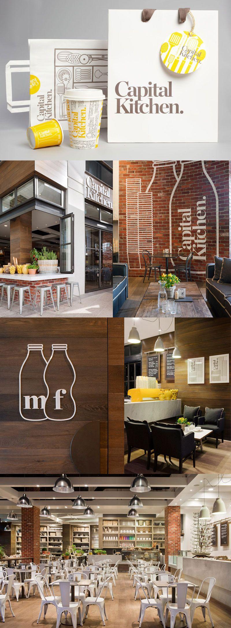 Capital Kitchen by Cornwell Branding & Design Branding