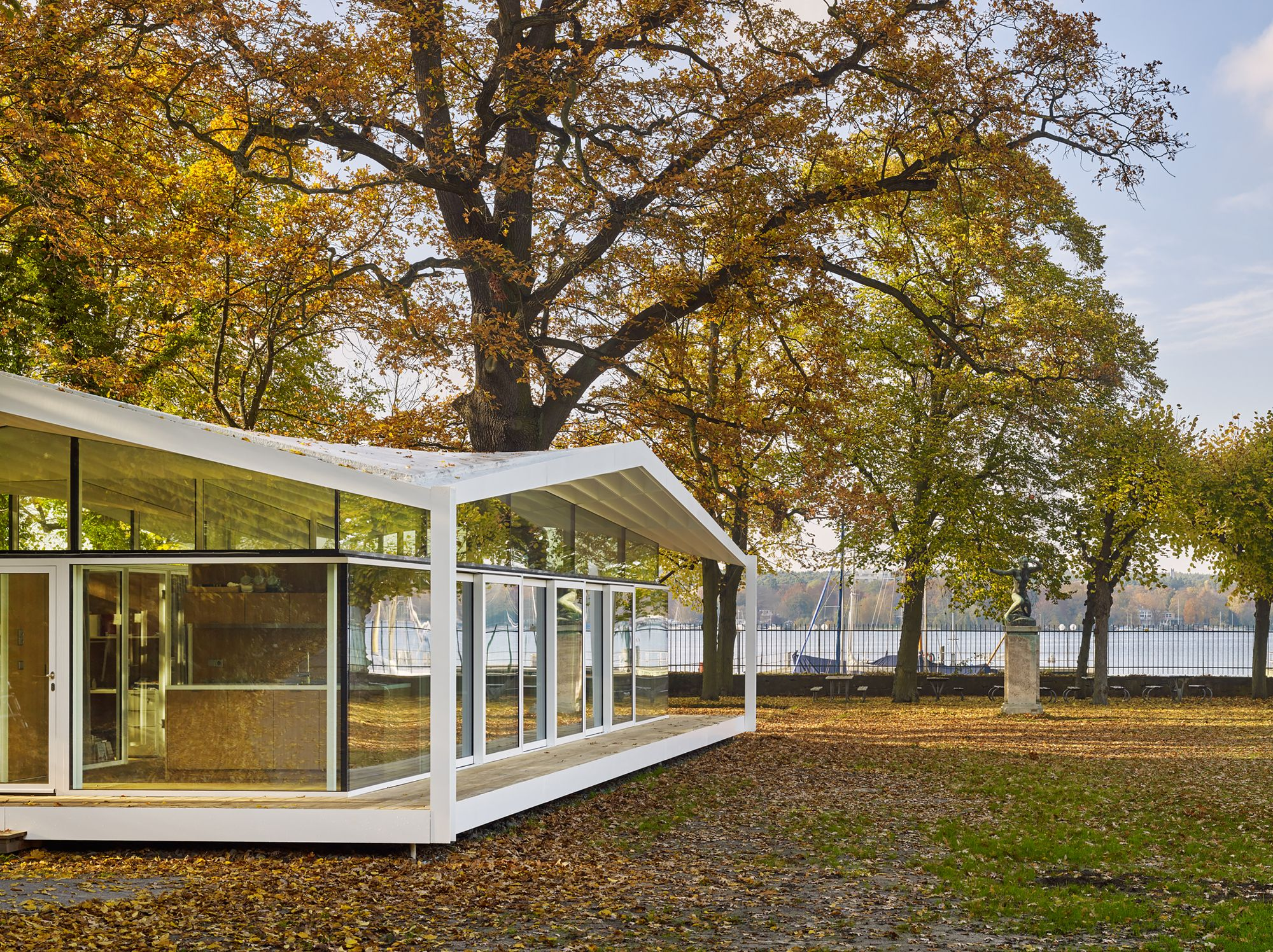 Gallery of Fellows Pavilion - American Academy Berlin / Barkow ...
