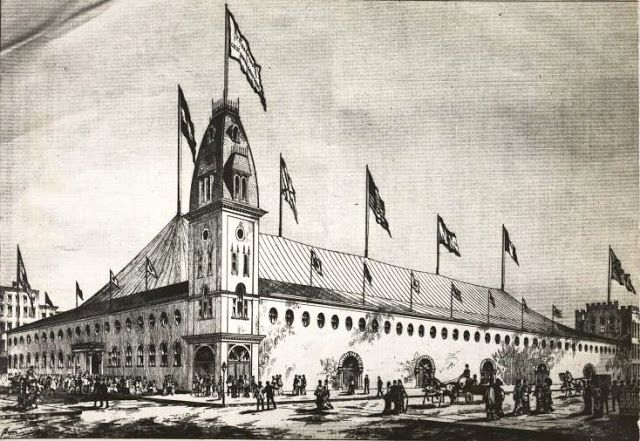 The Lost Original Madison Square Garden -- Madison Ave and 26th Street