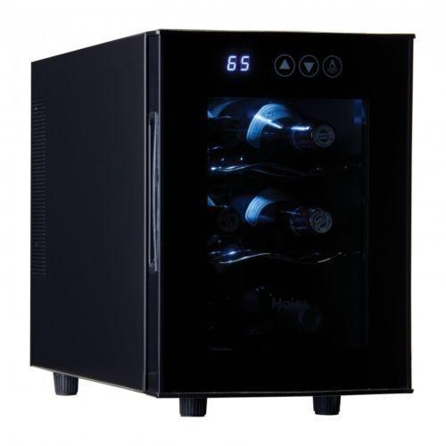 Wine Cooler Refrigerator 6 Bottle Cabinet Freestanding