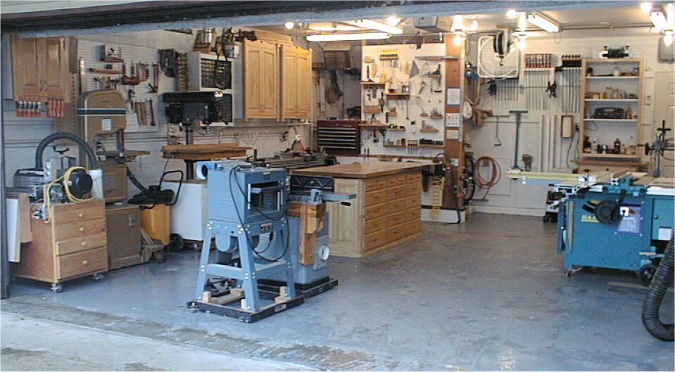Garage Woodworking Shop A Recent Kitchen Renovation Project Inspires New Woodshop Storage Ideas For My Recycle The Old Cabinets Into Ne