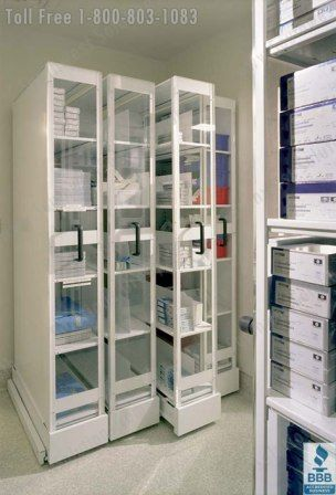 Pull Out Quickspace Ultrastor Sterile Core Medical Storage