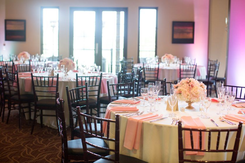 Light Pink And White Wedding At Aliso Viejo Country Club Florals By Designs