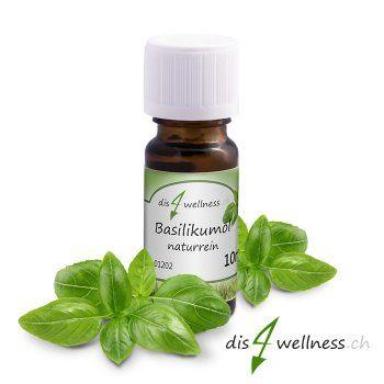 Basilikumöl (10 ml) 100% naturreines ätherisches Öl