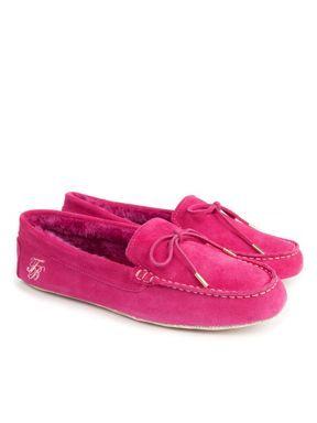 Ted Baker Hindreg moccasin slipper Pink