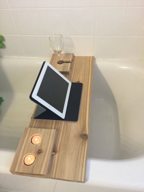 custom cedar bath caddy by DocWesley on Etsy | For the "|570|760|?|29cfa9536d294c42956d8e7ea6549186|False|UNLIKELY|0.33644673228263855
