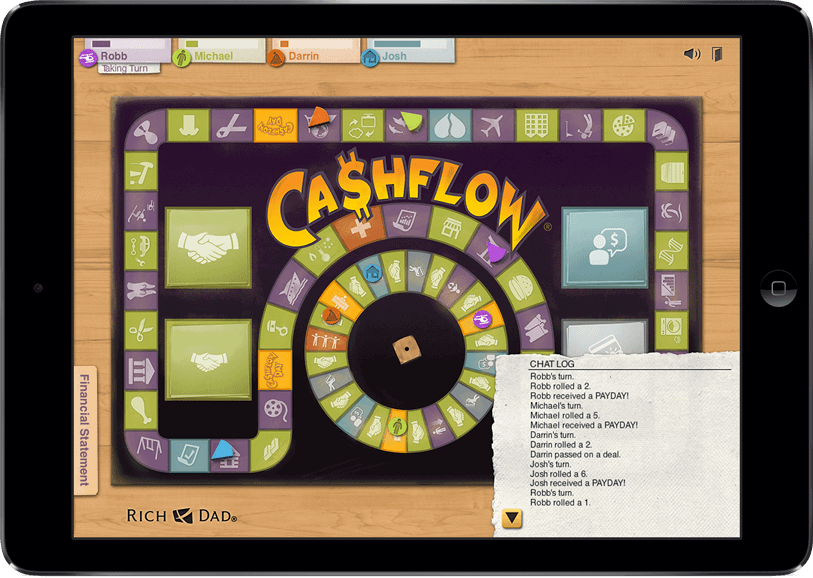 Cashflow on iPad Cash flow, Investing, Flow game