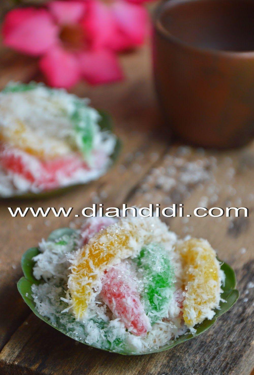 Cenil Versi Resep Baru Resep Resep Masakan Resep Masakan Indonesia