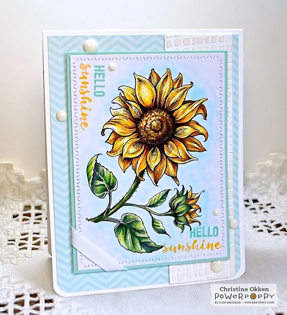 ChristineCreations: In Praise of Sunflowers