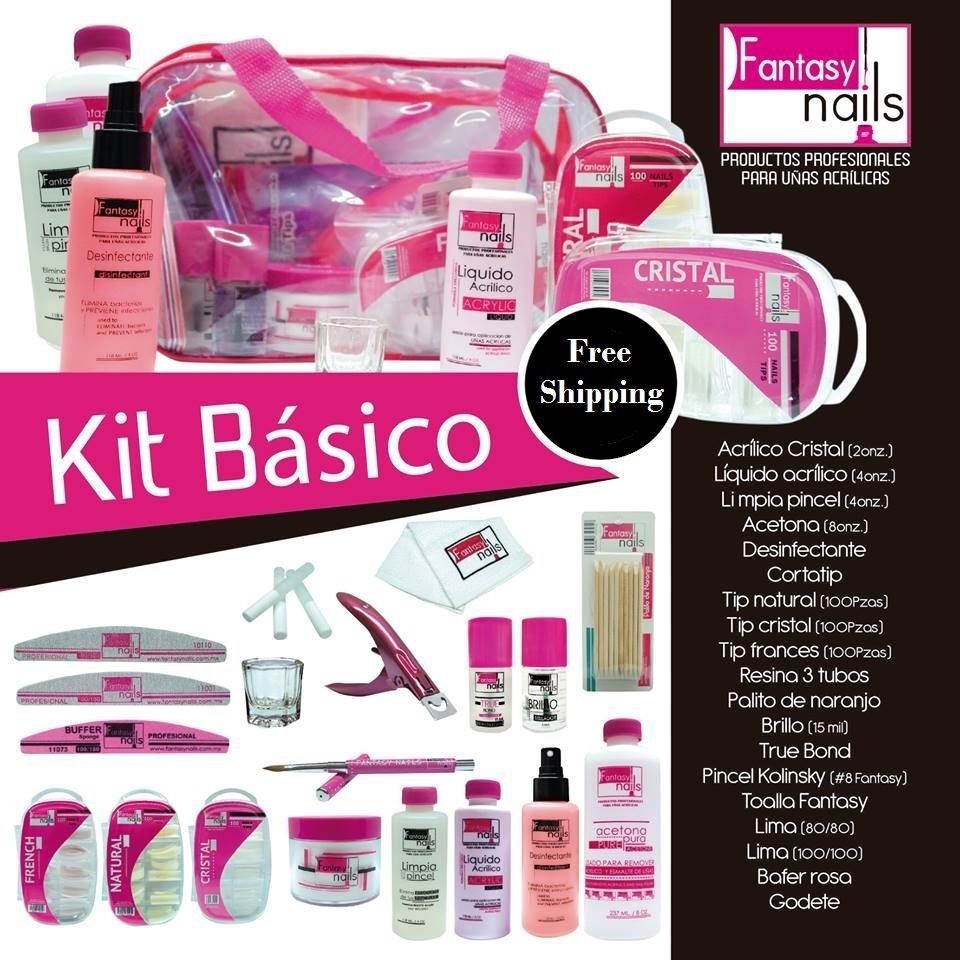 Nail polisher and callus remover nail care kit be sure to check out - Manicure Pedicure Tools And Kits Fantasy Nails Kit Basico Para El Cuidado De U As