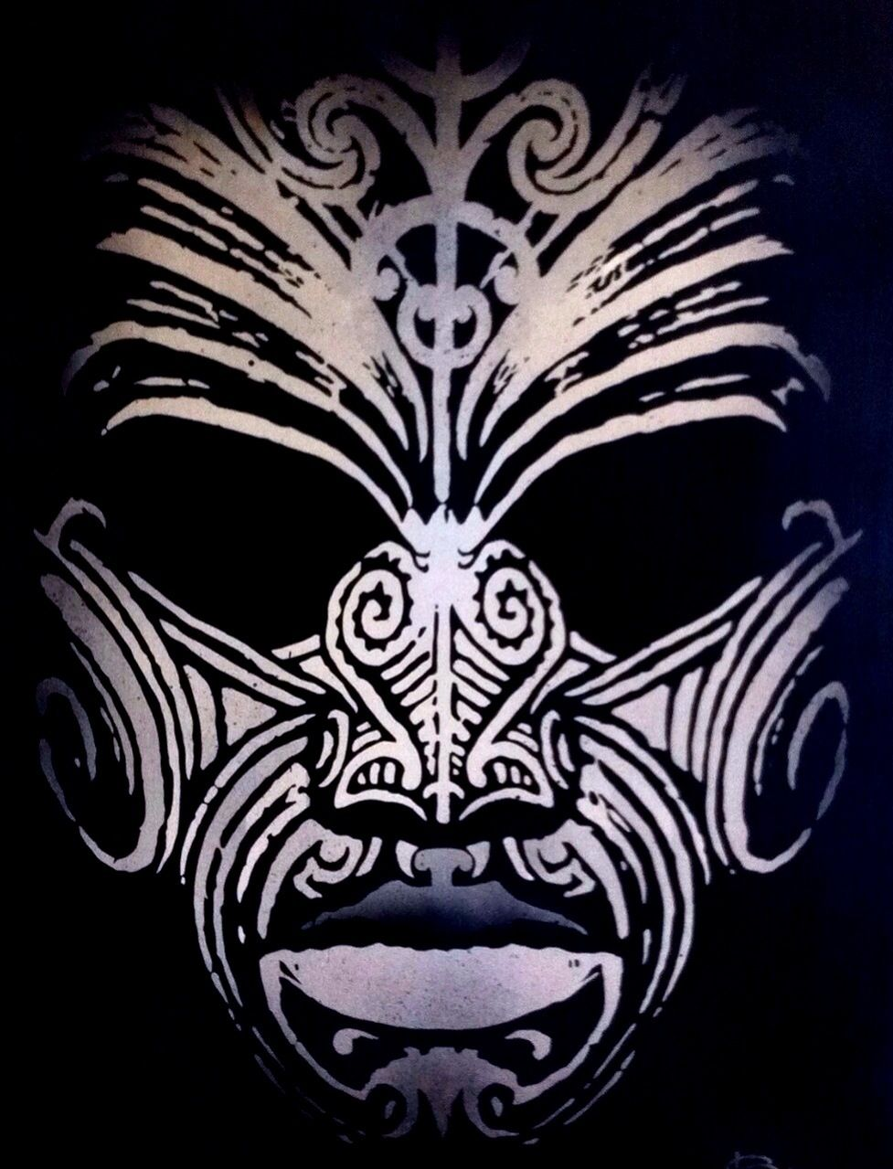 Maori Tribal Face Tattoo: Maori Art, Maori Face Tattoo