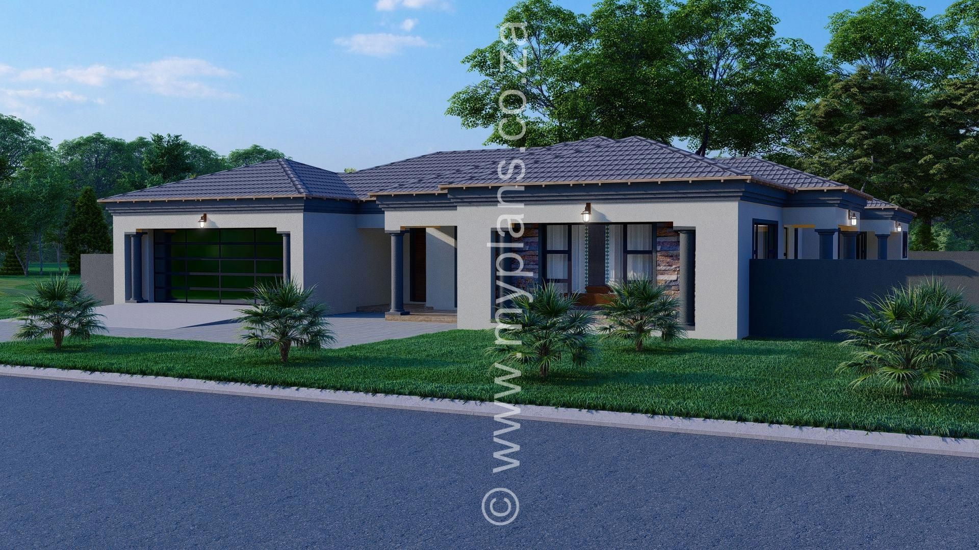 4 Bedroom House Plan Mlb 025s My Building Plans South Africa Rustickitchen Bedroom House Plans House Plans South Africa 4 Bedroom House Plans