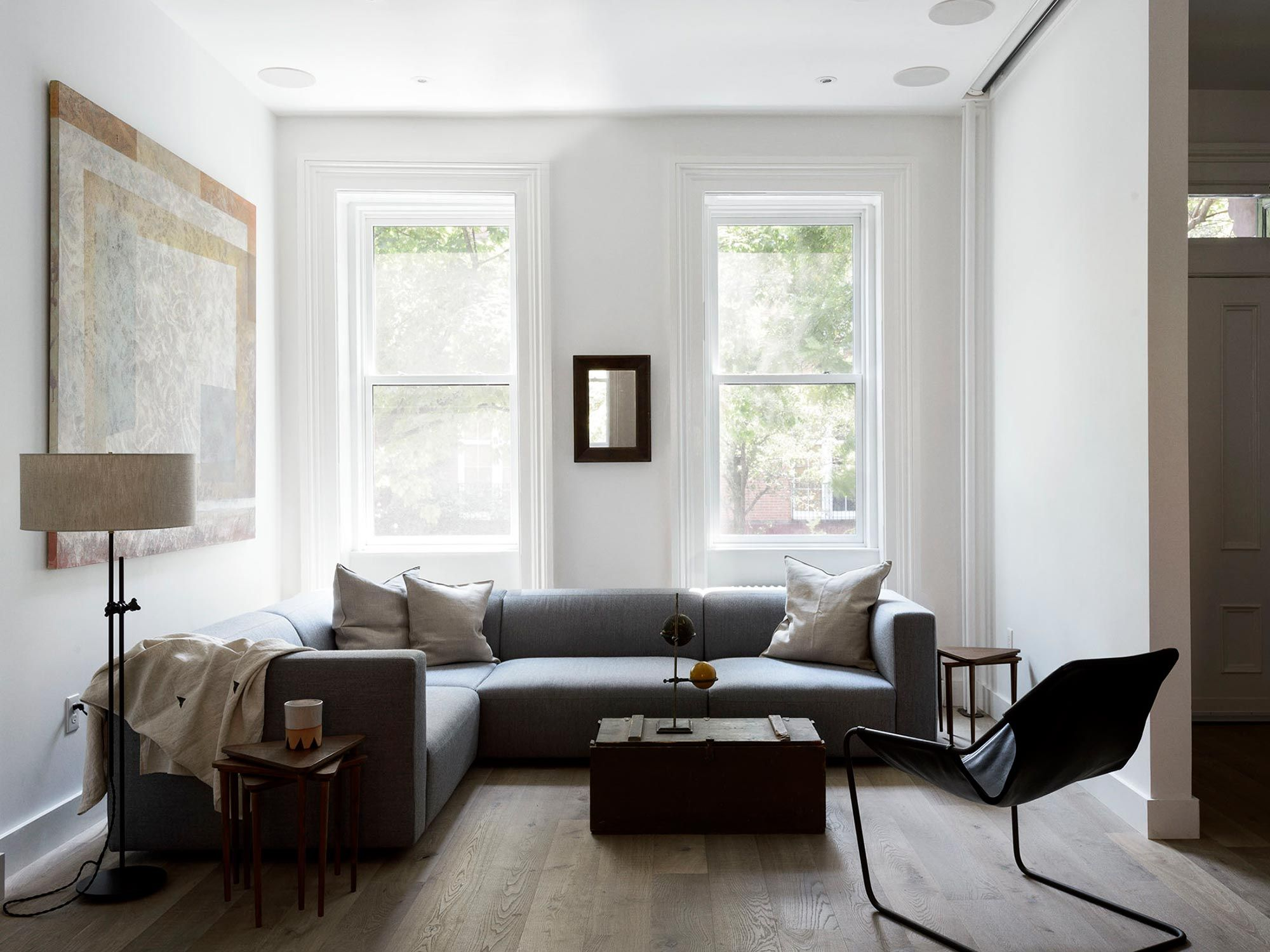 Sackett - Brooklyn Interior Design | Sectional Seating | Interiors ...