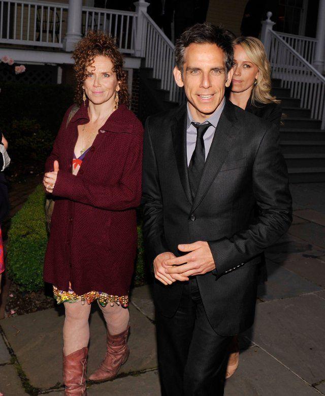 Ben Stiller And Amy Stiller Actors Christine Taylor Celebs