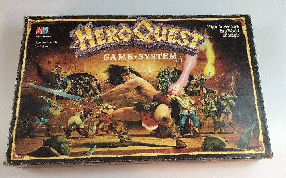 eBay Sponsored Used Hero Quest Board Game System Board