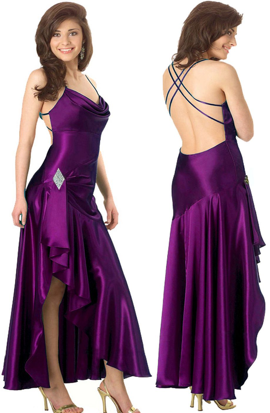 purple bridesmaid dresses | Beautiful Purple Wedding Bridesmaid ...