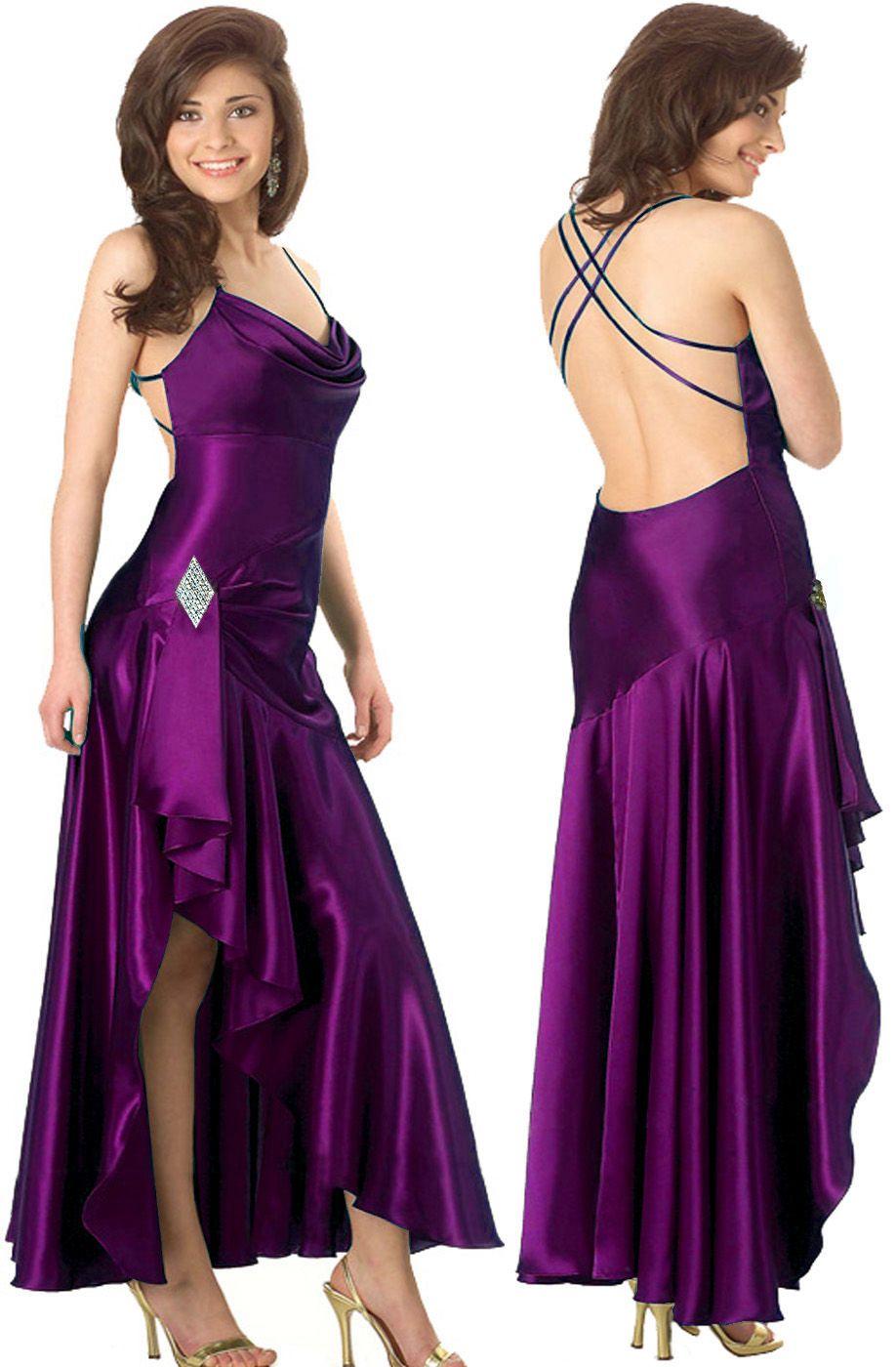 purple bridesmaid dresses | Beautiful Purple Wedding Bridesmaid ...