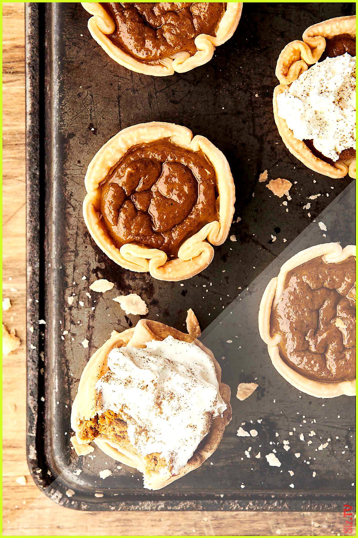 Mini Pumpkin Pies Recipe  Quick Easy 038 Made in a Muffin Tin Mini Pumpkin Pies Recipe  Quick Easy