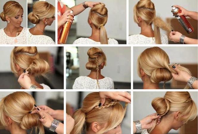 Ein Tiefer Knoten Haar Styling Haartutorial Medium Frisuren Frauen