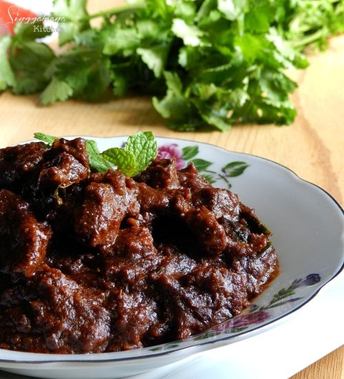 Daging Masak Hitam Nasi Kandar Singgahsana Kitchen Resep Masakan Malaysia Masakan Malaysia Resep Daging Sapi