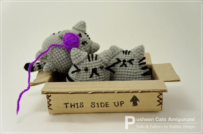 Free Crochet Cat Bed Patterns to make, cat caves, donuts, pouffes ...   531x800