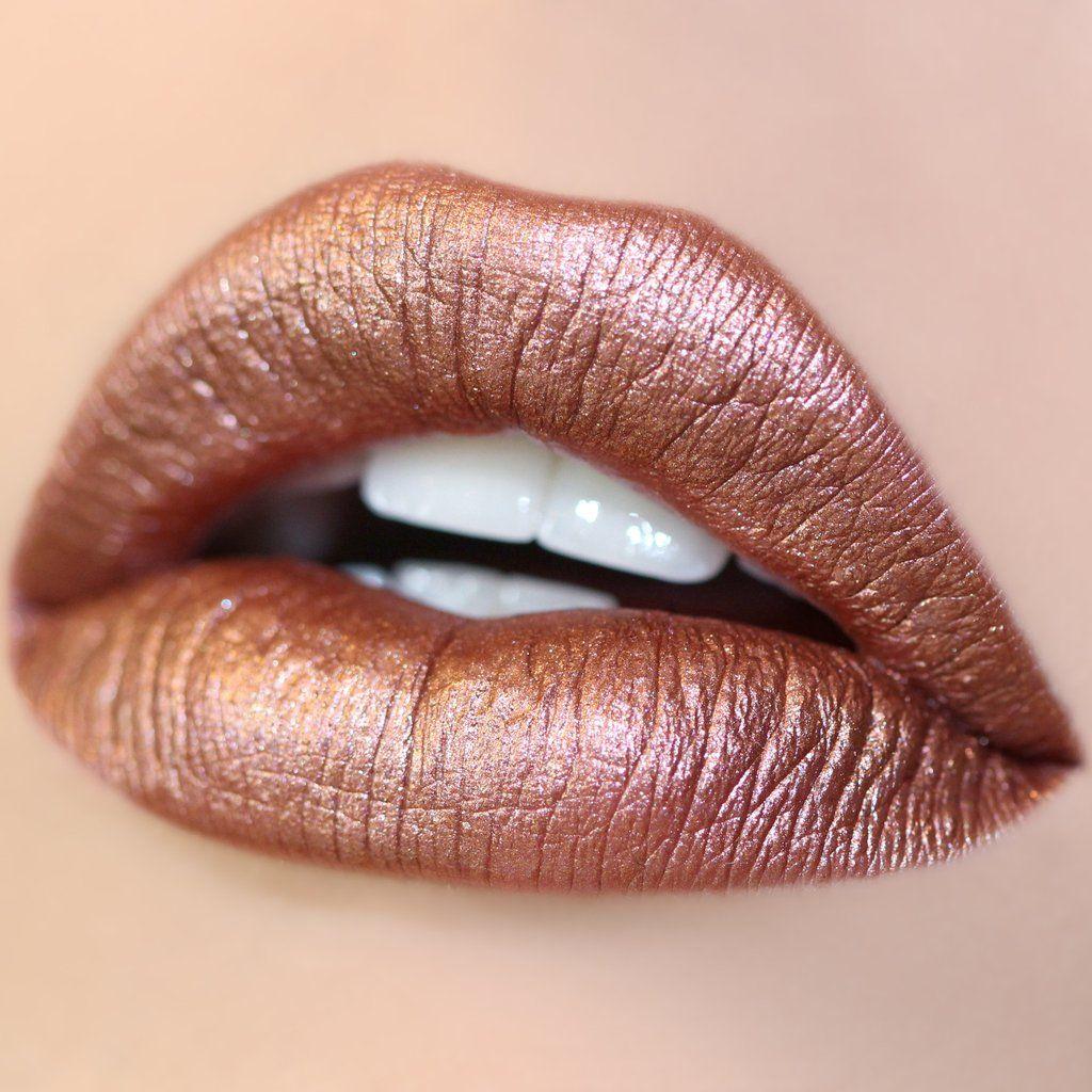 0b8ecc15ae6f Man Eater | Rose Gold | Metallic lipstick, Colourpop cosmetics, Makeup